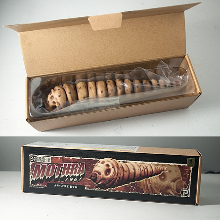 X-Plus Mothra 1961 Box and packaging.
