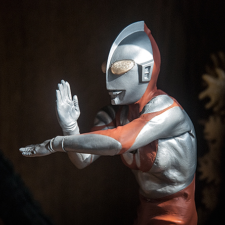 X Plus Ultraman C Type Specium Ray Pose Vinyl Figure