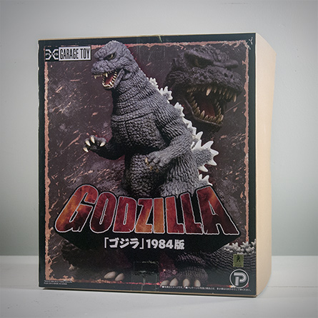 X-Plus Godzilla 1984 Product Box. Photo Copyright, John Stanowski.