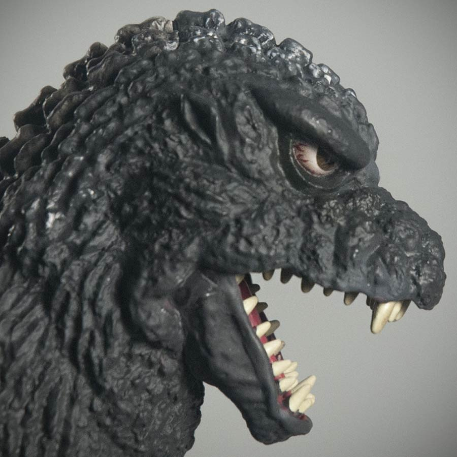 X-Plus 30cm Godzilla 1984 - Close Head Profile. Photo copyright, John Stanowski.