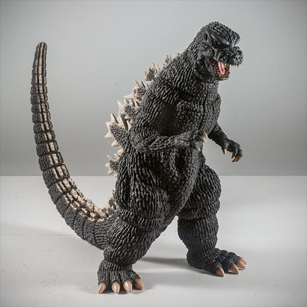 X-Plus Plex 30cm Godzilla 1984 1985 Vinyl Figure. Photo copyright, John Stanowski.