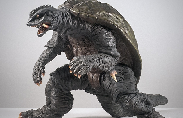 X-Plus Gamera 1996 Vinyl Figure. Photo copyright, John Stanowski.