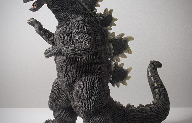 X-Plus Large Monsters Series Godzilla 1975 Vinyl Figure Review.