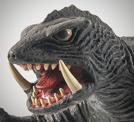X-Plus Gamera 1966 - Headshot at Angle.