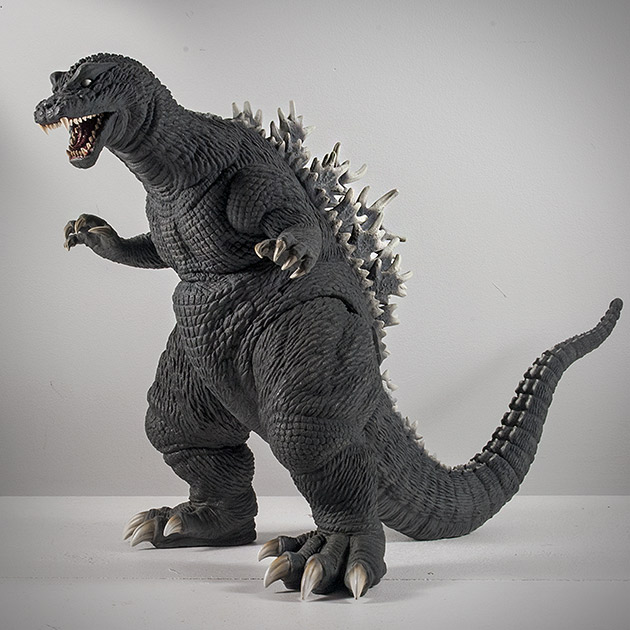X-Plus / Plex 30cm Godzilla 2001 (GMK) Vinyl Figure Review.
