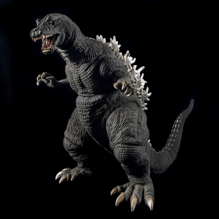 X-Plus 30cm Series Godzilla 2001 (GMK) Vinyl Figure Review
