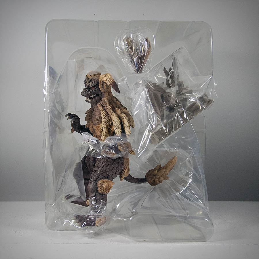 X-Plus King Caesar Vinyl Packaging Shell.