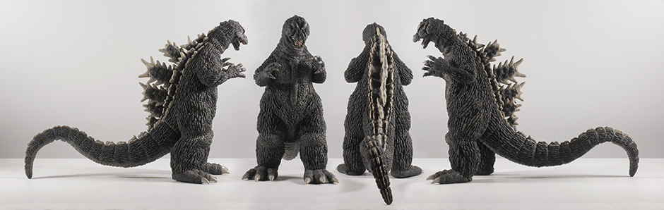 X-Plus Godzilla 1964 - All Views.