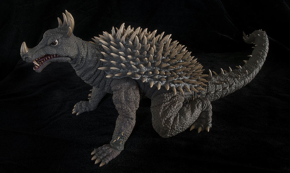 X-Plus Anguirus - Left Side.