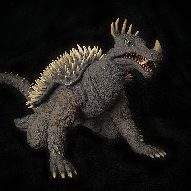 X-Plus Anguirus Vinyl Figure Review.