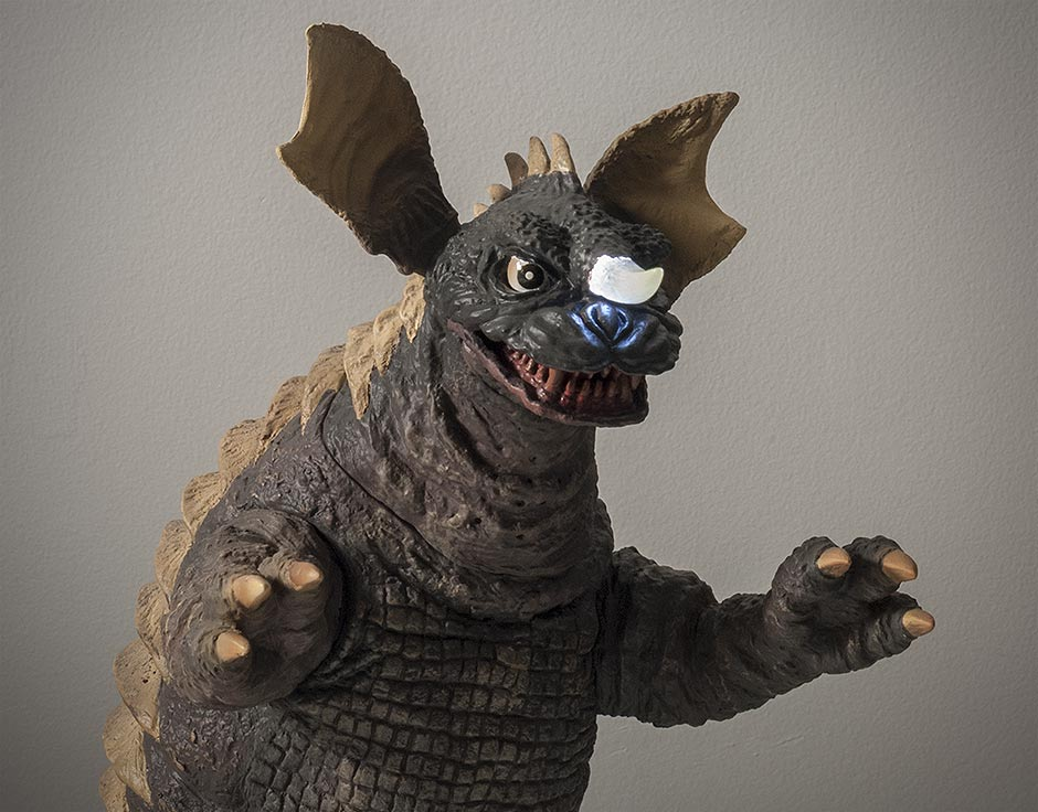 X-Plus Baragon Vinyl Figure with Ric Boy Exclusive Features.
