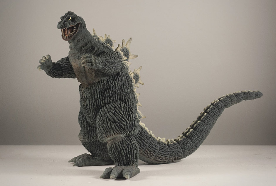 X-Plus Godzilla 1962 Vinyl Figure - Full Body.