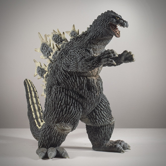 X-Plus Godzilla 1962 Vinyl Figure Review.