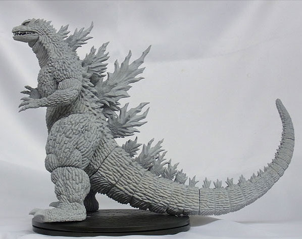 News: X-Plus Godzilla 1999 side view.