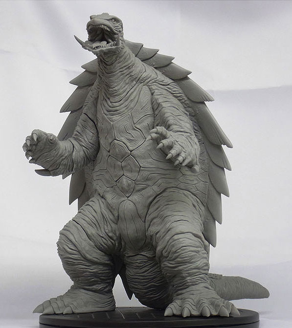 X-Plus Gamera 1999 Forward View.