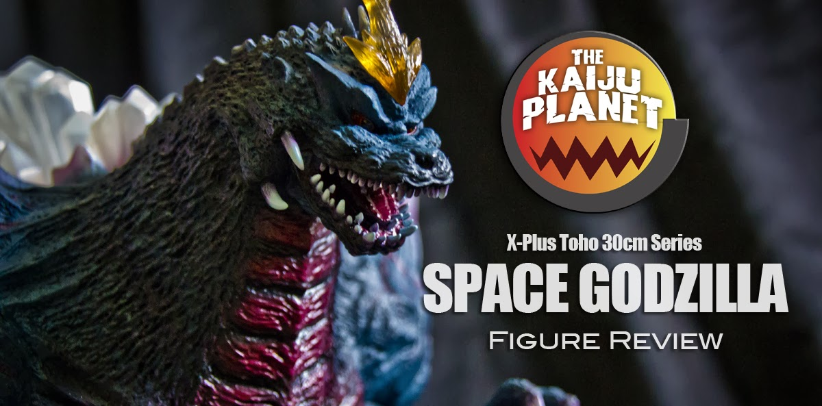 Kaiju Planet reviews the X-Plus Space Godzilla vinyl figure.