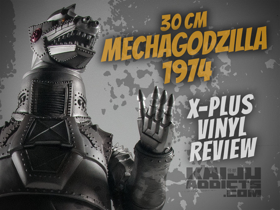 Kaiju Addicts Full Review of X-Plus 30cm Series Mechagodzilla Vinyl Figure.