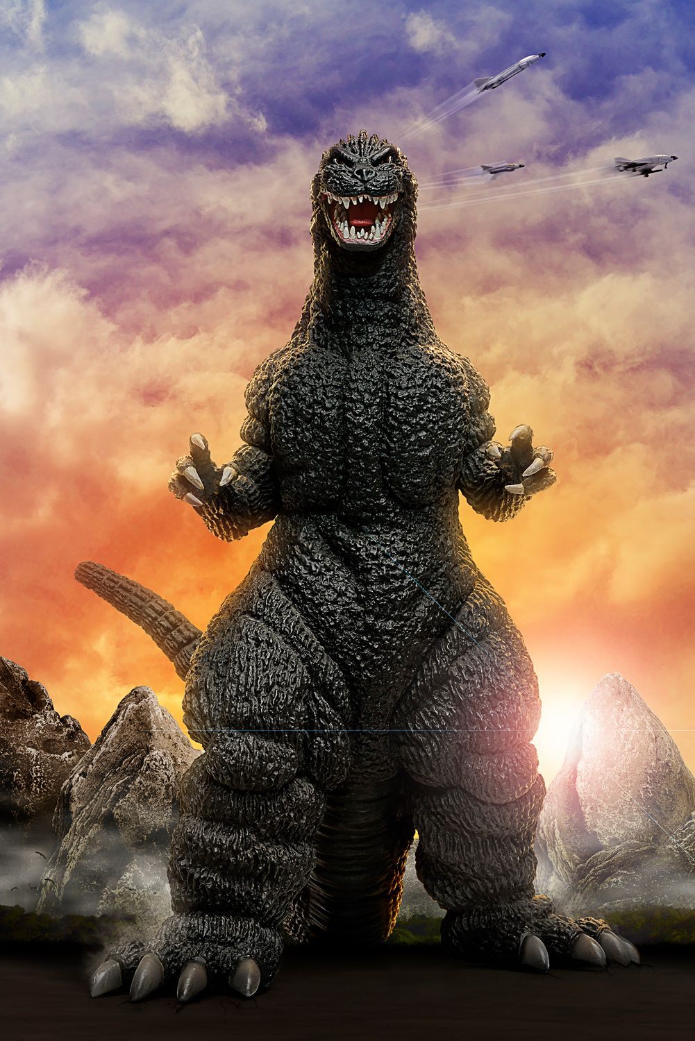 X-Plus Godzilla 1989 Composite by Baby Shifty