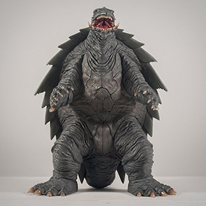 X-Plus Gamera 1999 Vinyl Figure Review.