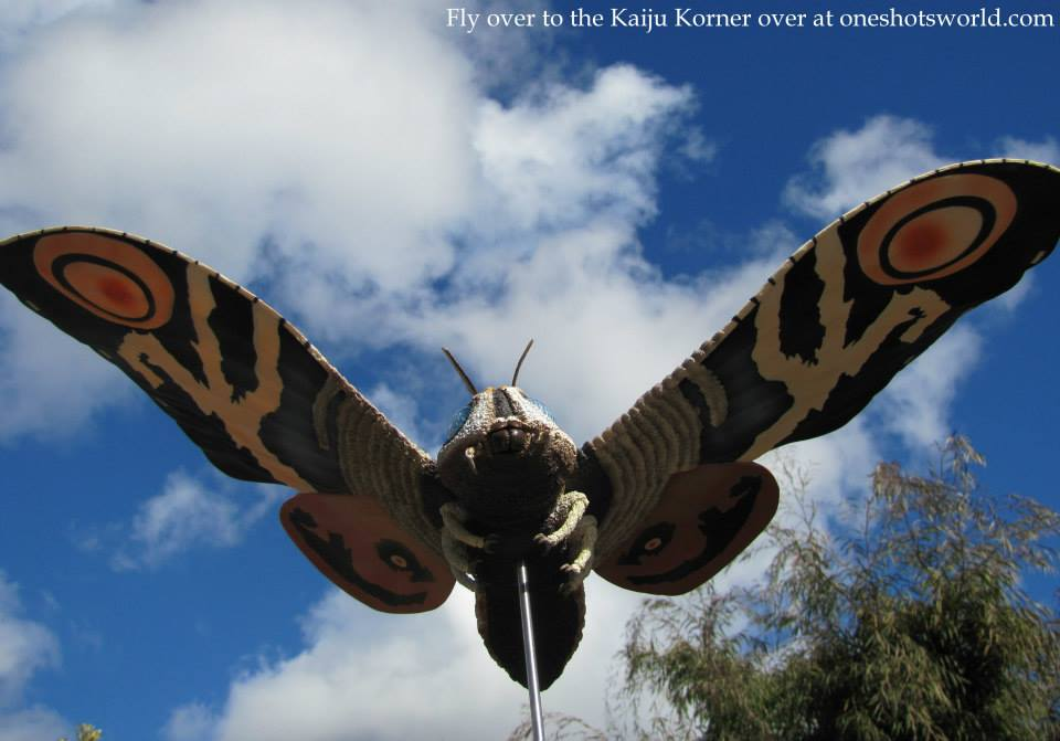 X-Plus Mothra photo by George Dixon.