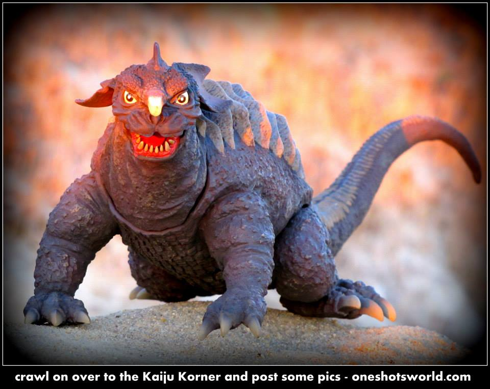 X-Plus Baragon photo by George Dixon.
