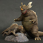 Large Monster Series Baragon and Varan 1968 DAM Complimentary Set Vol. 2.