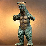 Toho Large Monster Series Gabara vinyl figure by X-Plus.