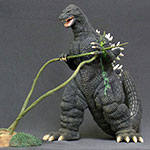 X-Plus Large Monster Series Godzilla 1989 (Damaged).