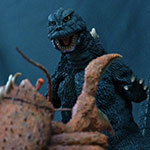 X-Plus Large Monster Series.Godzilla and Ebirah 1966 Set.