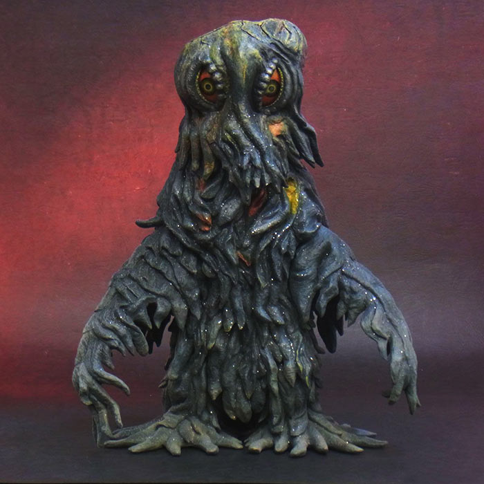Toho Large Monster Series Hedorah vinyl figure by X-Plus.