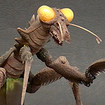 Toho Large Monster Series Kamacuras 1967 vinyl figure.
