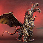 Toho Large Monster Series Keizer Ghidorah vinyl figure by X-Plus.