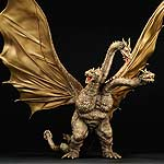 X-Plus Toho Large Monster Series King Ghidorah 1968 Vinyl Figure.