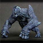 Large Monster Series Pacific Rim Leatherback vinyl figure by X-Plus.