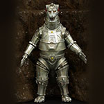X-Plus Large Monster Series Mechagodzilla (Base Version) 1974.