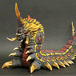 Toho 30cm Series Battra Larva vinyl figure by X-Plus.