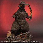 X-Plus Toho 30cm Series Godzilla 1954 Train-Biter Color Version vinyl figure.