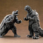 Toho 30cm Series Godzilla and Anguirus 1955 Showdown Set.