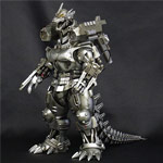 X-Plus Toho Real Master Collection Kiryu 2003 polyresin statue.