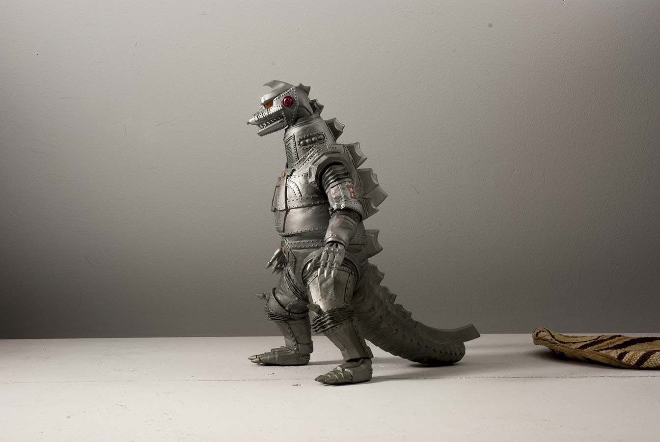 Raw shot of X-Plus 25cm Mechagodzilla 1974.