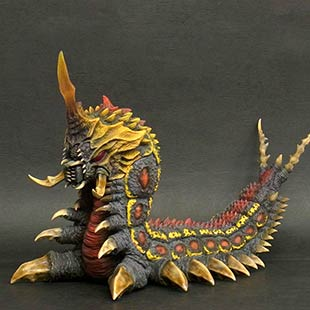 X-Plus 30cm Series Battra Larva vinyl figure.
