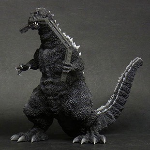 "X-Plus 30cm Series Godzilla 1954 ""Train Biter Version"" vinyl figure."