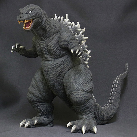X-Plus Godzilla 2001 Diamond Re-issue Vinyl Figure.