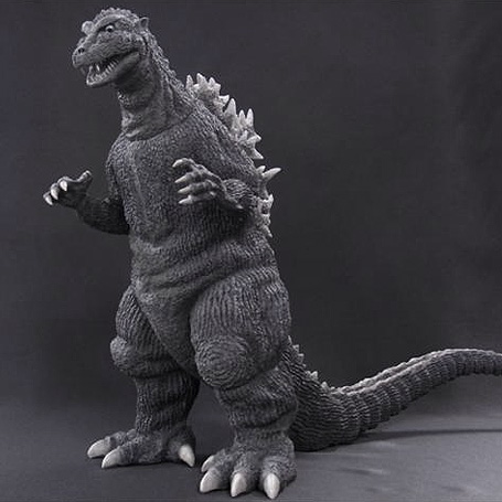 X-Plus Godzilla 1954 Diamond Re-Issue vinyl figure.