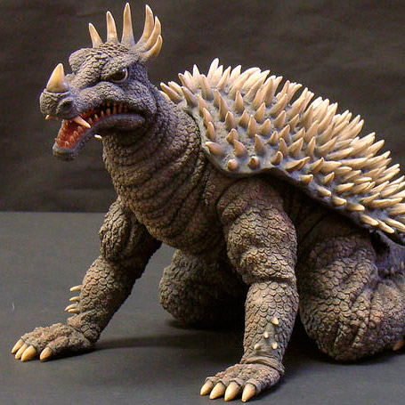 Toho 30cm Series Anguirus 1968 Vinyl Figure by X-Plus.