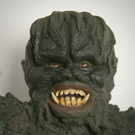 Close-up of Gaira's head.