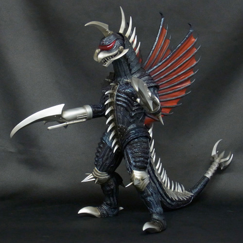 Godzilla Kaiju 12in Series Gigan 2004 vinyl figure.