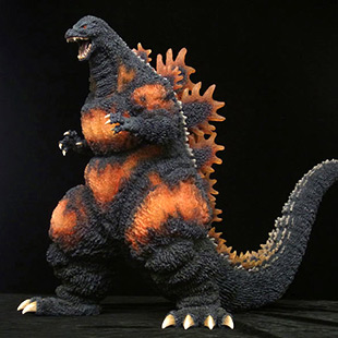 X-Plus Gigantic Series Godzilla 1995 (Bluefin SDCC Exclusive) vinyl figure.