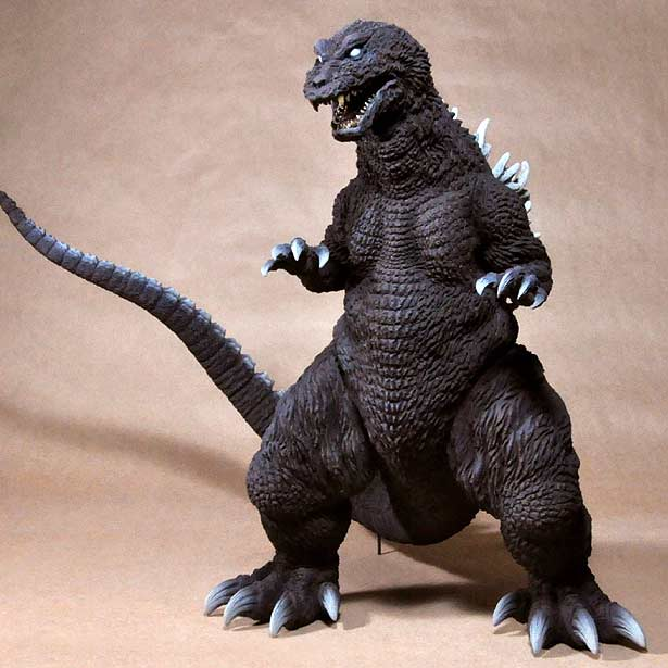 X-Plus 12in Series Godzilla 2001 vinyl figure.