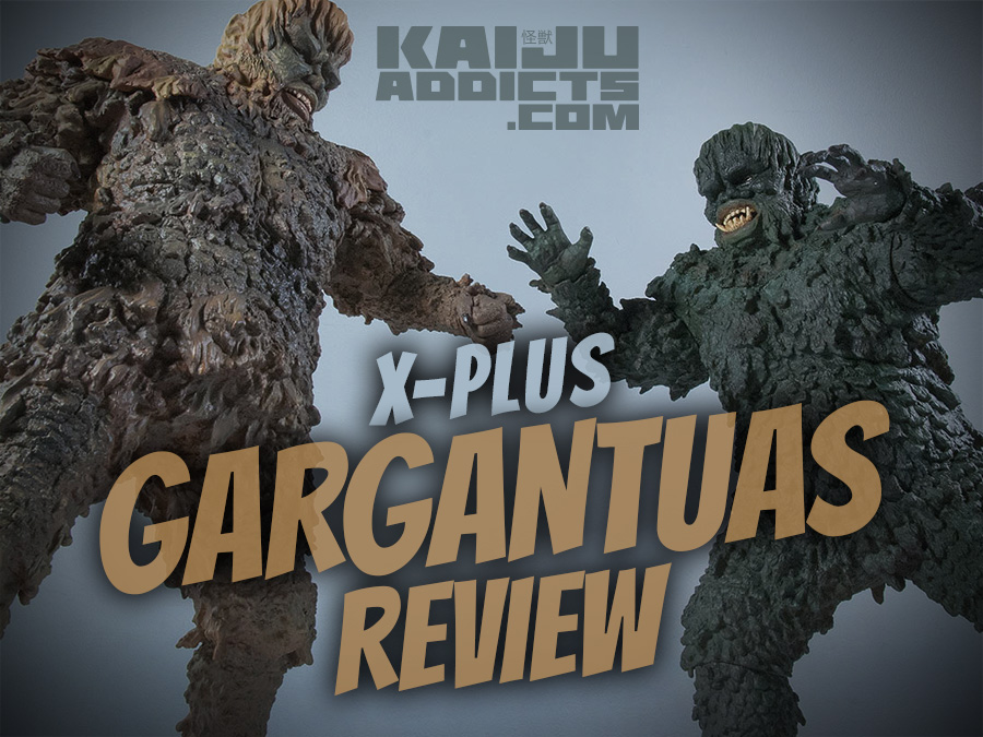 X-Plus Sanda vs. Gaira, War of the Gargantuas Vinyl Figure Review.